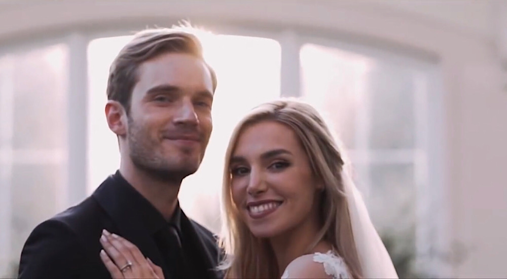 Sive expected PewDiePie to take a break from YouTube last year after his wedding (YouTube - PewDiePie)